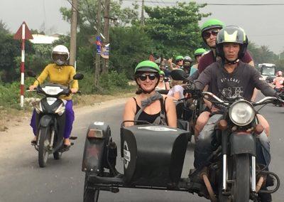 sidecar tour hoi an